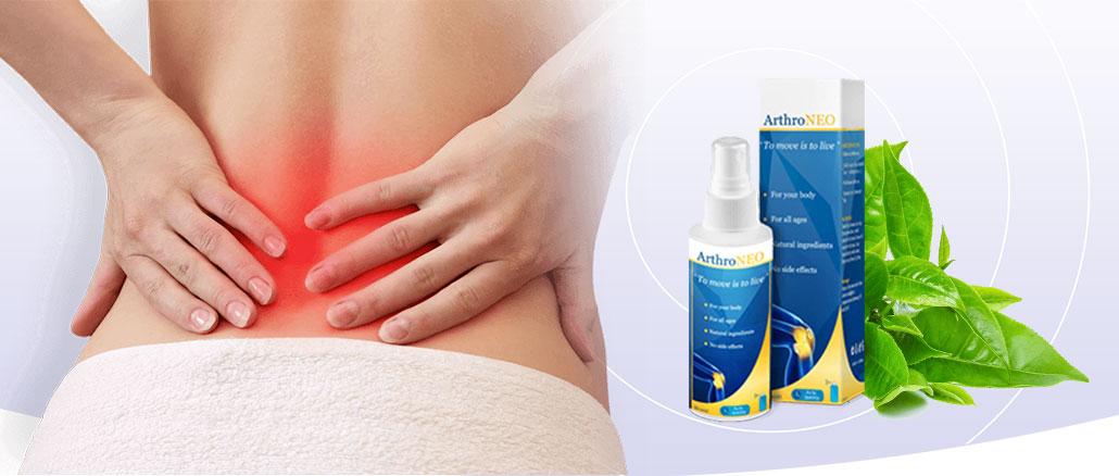 ArthroNEO hatását, illetve mellékhatásokat, amelyek összetevői a spray