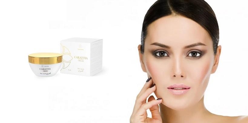 Ránctalanító krém Carattia Cream természetes összetevőket a krém