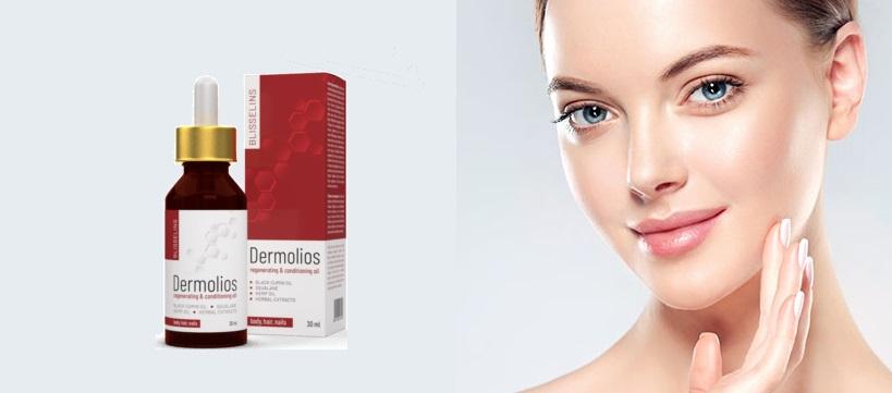 Ránctalanító krém Dermolios természetes összetevőket a krém